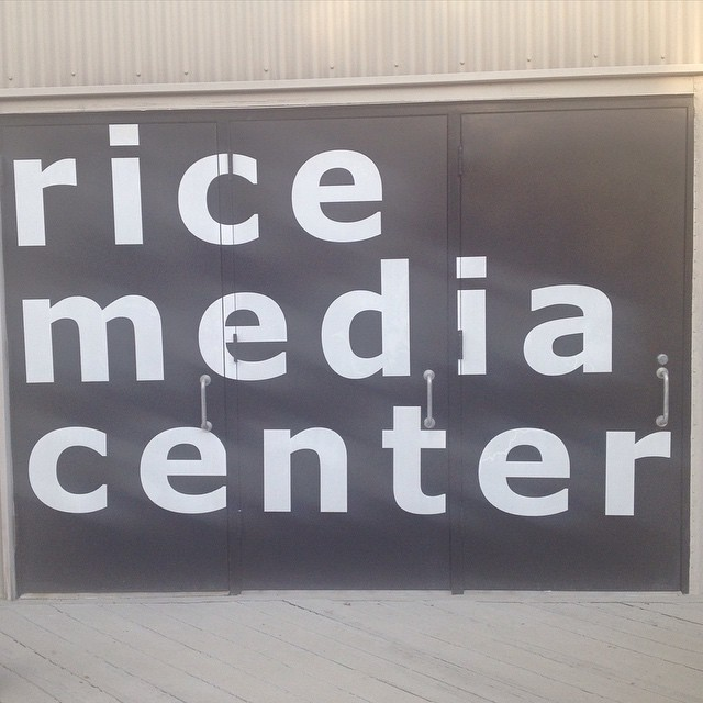 We are at ricemediacenter for boulevard !! QFest houston