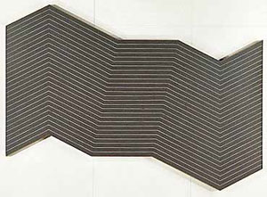 Aaron parazette at dunn and brown for Frank stella mas o menos
