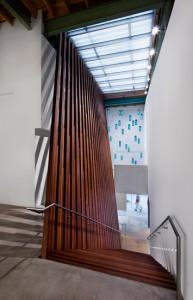 Arthouse's attractive, curator-less interior. Image © Michael Moran