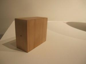 "David Tsai's ""Tree Chunk"" toothpick dispenser"