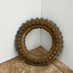 "John Robert Craft ""Point Ring"" cast iron c. 21"" diameter x 5"""