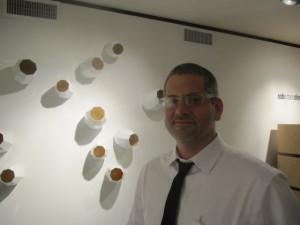 "John Paul Plauché with ""barnacles."""