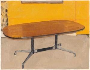 Conrad Bakker: painting detail