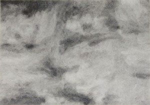 Dark Grows the Day Dearie (detail), 2010 Graphite on paper