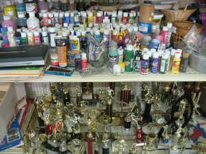 Art Asylum Trophies and Paint