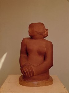 Figure of a Woman, Corsehill stone, 1929–30 (BH 27), Tate