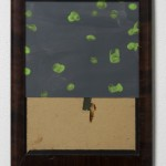 Fergus Feehily, Courtyard, 2010, Gouache on paper, found frame 11 x 8 1/8 x 5/8 in. Courtesy of Misako & Rosen, Tokyo Collection of Nodoka Kinsho © Fergus Feehily