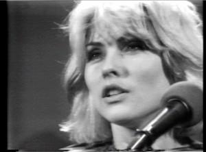 """Debbie Harry in a still from Glen O'Brien's """"TV Party"""""""