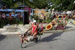 Flower Man Cleveland Turner and the Flower Man Houst