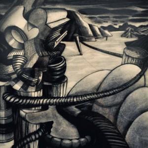 Mark Hogensen's restless landscape