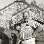 John Milkovisch in front of his Beer Can House, photo copyright Janice Rubin, from http://www.beercanhouse.org/