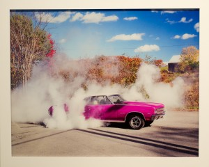 "Matthew Porter, ""Burnout #2,"" 2007, archival pigment print mounted to plexiglas with satin laminate"