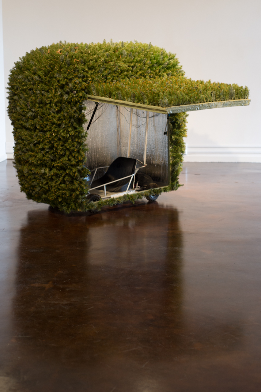 "Justin Shull, "" Terrestrial Shrub Rover,"" 2009, Mixed Media"