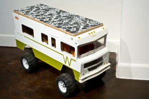 "Ryan Humphrey, ""Winnebago Skate"", 2010, mixed media"