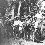 Juneteenth celebration in Eastwoods Park, Austin, 1900 (Austin History Center)