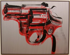 Andy Warhol- Gun