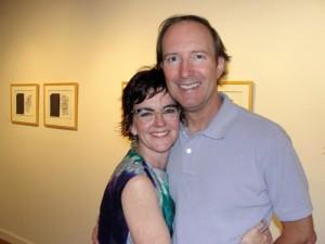 Leigh Anne and husband Nick