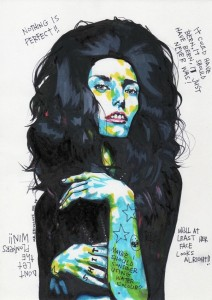 "A felt-tip illustration by the U.K.-based artist called ""Mr. Frivolous."""