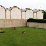 &quot;Constellation&quot;,1983, Isamu Noguchi, Kimbell Art Museum, 3333 Camp Bowie Blvd., Cultural District. Renowned sculptor Isamu Noguchi created Constellation in honor of his friend, Louis Kahn. Noguchi&#039;s four massive basalt rocks were sculpted and personally sited by him on the south side of the museum.