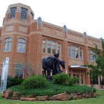 National Cowgirl Museum and Hall of Fame, 2002, David M. Schwarz Architects,1720 Gendy St., Cultural District. In Fort Worth, all roads lead back to the Old West.  In this case, it&#039;s the world&#039;s only 	museum devoted to the cowgirl.  The architecture of David Schwartz&#039;s National Cowgirl Museum and Hall of Fame gives a tip of its hat to its next door neighbor, the Will Rogers Memorial Center.