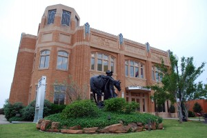 National Cowgirl Museum and Hall of Fame, 2002, David M. Schwarz Architects,1720 Gendy St., Cultural District. In Fort Worth, all roads lead back to the Old West.  In this case, it's the world's only 	museum devoted to the cowgirl.  The architecture of David Schwartz's National Cowgirl Museum and Hall of Fame gives a tip of its hat to its next door neighbor, the Will Rogers Memorial Center.