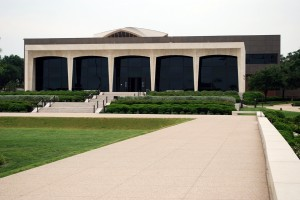 Amon Carter Museum of American Art, 1961, 2001, Philip Johnson, 3501 Camp Bowie Blvd., Cultural District. Architect Philip Johnson used native Texas shellstone for the walls of the inaugural Amon Carter Museum in 1961. The back of the building was expanded in 1964 and in 1977.  In 1998, Philip Johnson/Alan Ritchie Architects were hired to replace the two expansion projects with a whole new addition that retained the original 1961 structure. The new building which opened in 2001 tripled the museum's exhibition capacity.