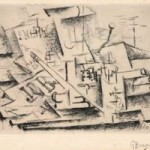 Georges Braque, Job, 1911, etching with drypoint. Melamed Family Collection.  2011 Artists Rights Society (ARS), New York / ADAGP, Paris