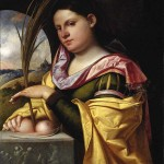 Carianis Portrait of a Young Woman as Saint Agatha