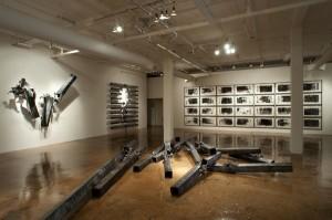 Gudjon Bjarnason's exhibit at Blue Star Contemporary Art Center (Photos: Ansen Seale)