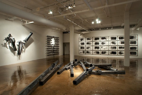 Gudjon Bjarnason's exhibit at Blue Star Contemporary Art Center (Photos: Ansen Seale)