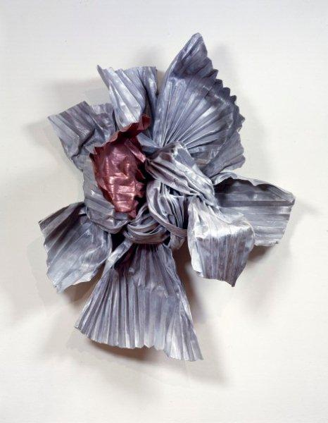 Lynda Benglis, Eridanus, 1984, Bronze, zinc, copper, aluminum, wire, 58 x 48 x 27 inches, Collection: National Museum of Women in the Arts