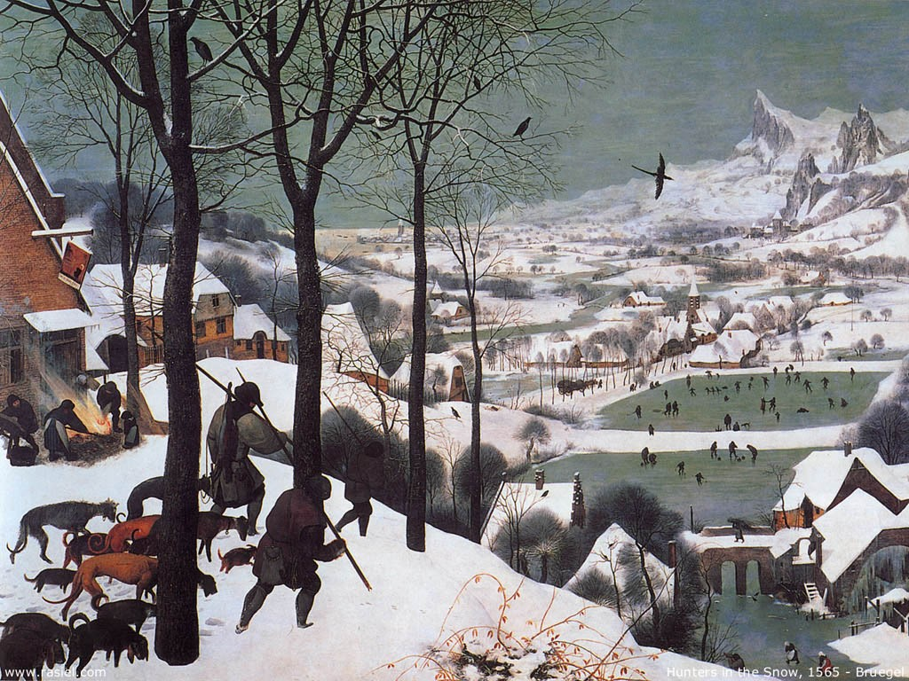 Bruegel- Hunters In The Snow