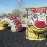 Adams' mosiac caterpillar moves into Buckboard Park