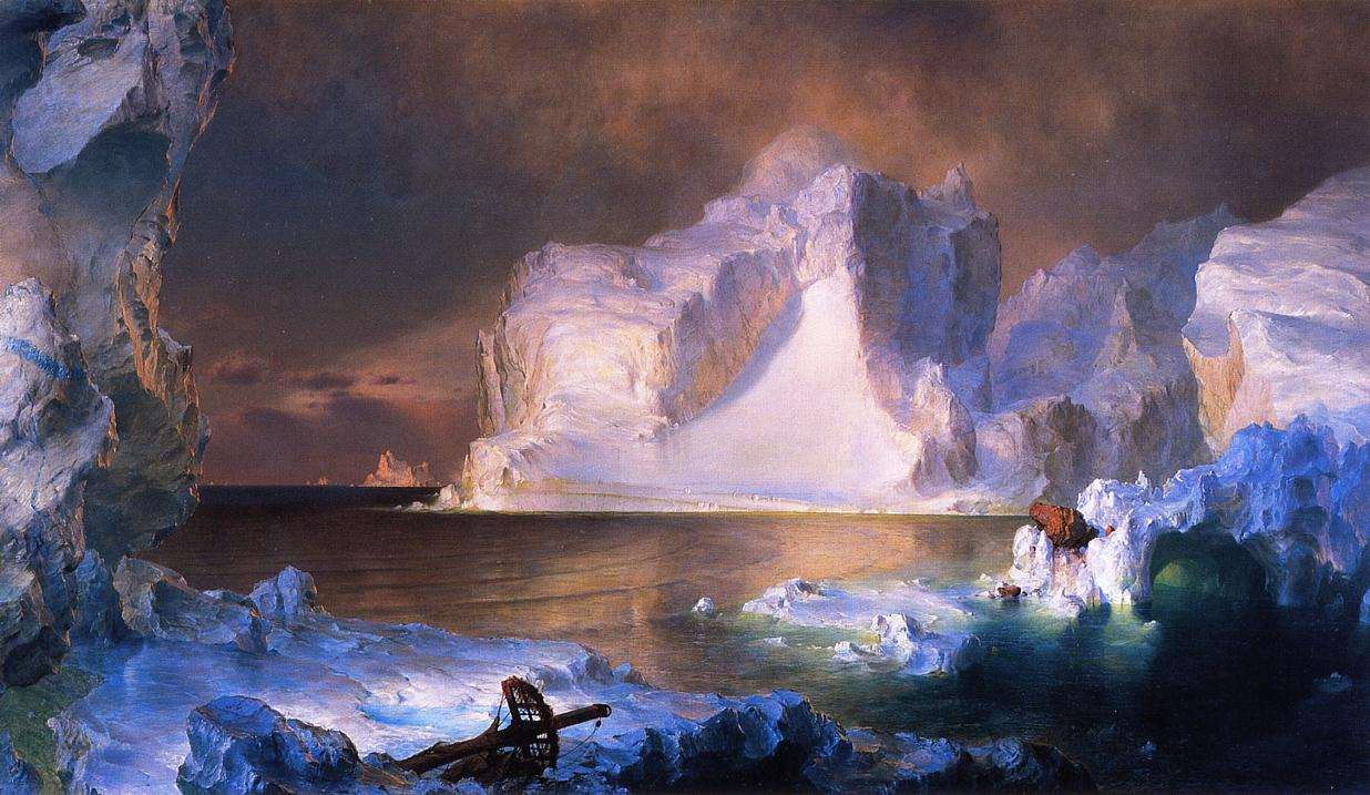 Fredric Edwin Church- The Icebergs at the DMA in Dallas