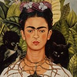 Frida's famous Self-portrait with Thorn Necklace and Hummingbird make a pit-stop at its Austin home