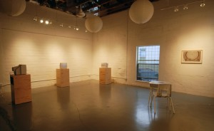 Installation view of Justice Works, a terrific exhibition studio run by artists Adriana Barrios and Barbara Justice.(Photo courtesy Justice Works Studio)