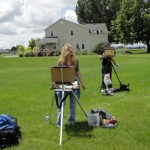 SketchCrawl: network of plein-air artists take over Houston, Dallas, and everywhere else Saturday.