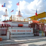 Orange Show, 1979, Jeff McKissack, 2402 Munger St., Gulf Freeway. Created single-handedly by a retired postman, the Orange Show is one of the most famous folk art sites in America. Jeff McKissack began building his homage to the orange in 1956, using scrap materials and found objects.  In 1979, he declared his &quot;show&quot; finished and opened his private fantasyland to the public.