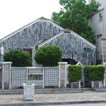 Beer Can House, John Milkovisch, 222 Malone St., Rice Military. In 1968, it was just a modest house in the middle of a neighborhood, but 39,000 cans of beer later, it had turned into an important stop on the tour of Houston&#039;s great folk art sites. Clearly, John Milkovisch loved beer more than just drinking it. For twenty years, the retired upholsterer used the cans to ingeniously decorate his home and front yard. Strings of flattened cans dangle from the roof like shimmy fringe. Stacked can bottoms create the front yard fence.  After he died in 1988, his wife and children maintained the curiosity for several years, eventually turning it over to the Orange Show Foundation for keeps.