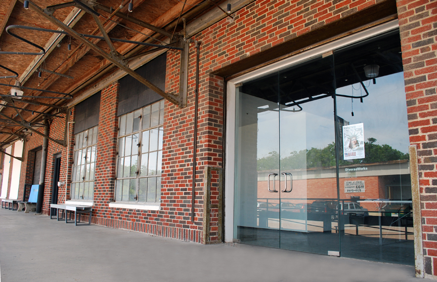 Diverseworks Art Space, 1117 East Freeway. A showcase for groundbreaking visual and performance artists, musicians and playwrights, Diverseworks was founded by a group of artists almost thirty years ago.  It has become one of the best known contemporary art centers in the country.