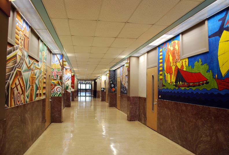 Student Murals, Mack H. Hannah Hall, 3100 Cleburne St., Texas Southern University. It&#039;s a trek to find these in the middle of the TSU campus, but it&#039;s worth the effort.  Make time to see the stunning work of master muralist, Dr. John Biggers, on the walls of TSU&#039;s Sterling Student Center, the Jones School of Business and the University Museum.