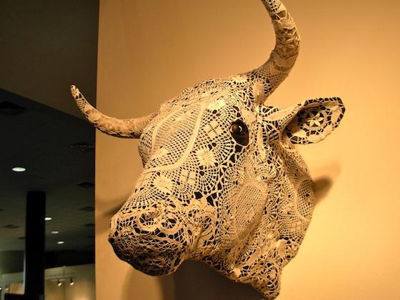 Joana Vasconcelos, Crochet Bull