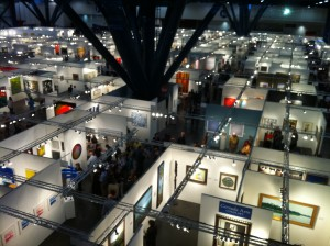 Dwarfing the Dallas Art Fair (not that we're comparing): the Houston Fine Art Fair is big!