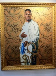 Kehinde Wiley at PanAmerican ArtProjects.