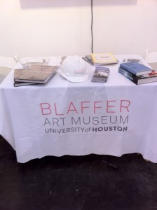 The under-remodeling Blaffer Art Museum represents.