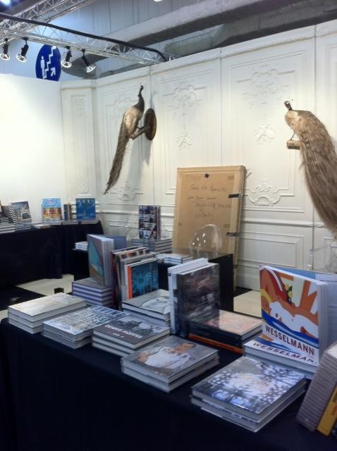 Art books and pheasants!