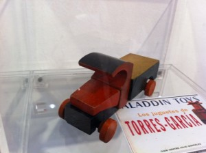 Great little wooden truck by Torres-Garcia.
