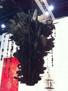 Kana Harada's work in the Koelsch booth.