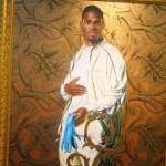 Portrait of a Lady by Kehinde Wiley