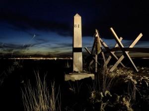 Border Monument No. 81, 2008,  31 x 24 inches, archival inkjet print, © David Taylor 2010